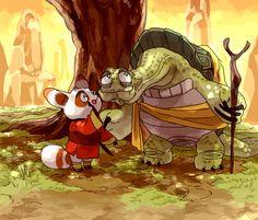 Kung Fu Panda, Shifu, Oogway