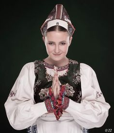 Folk costume from Polomka in Slovakia Folk Costume, Costumes, Heart Of Europe, Folk Embroidery, Culture, Amazing People, Czech Republic, Beautiful, Dresses