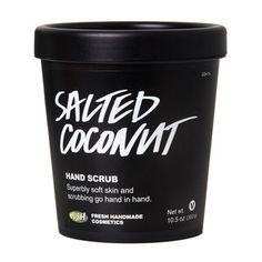 Salted Coconut Hand Scrub: This creamy coconut scrub is the perfect way to keep your hands in tip top condition.