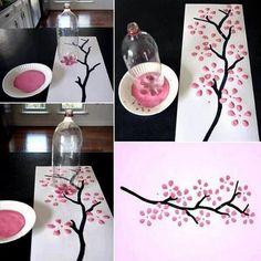 Pretty decorating u can do yourself