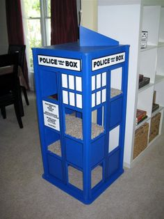 Cat TARDIS - this needs to happen in our house for Moriarty and Zelda.