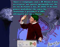 """Italiani, aiutiamo Renzi a prendere il 40% Ritorno in pubblico del segretario dem all'assemblea degli amministratori del partito. Attacchi contro gli """"squallidi sciacalli che un minuto dopo la slavina già criticavano protezione civile e volon #campagnaelettorale #matteorenzi"""