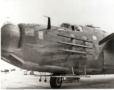 This is a side photo of a PB4Y-1 fitted with rocket rails to evaluate air launch rockets.  1944(U.S. Navy photo)