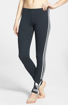 adidas Originals Trefoil Leggings (Online Only) available at #Nordstrom