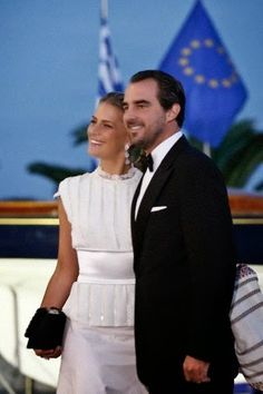 Golden Wedding Anniversary of Konstantin II and Annemarie of Greece  in Piraeus, Greece, 18 September 2014.