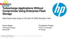 #MetroHealth Case Study on #EnterpriseFlashStorage, #Electronics