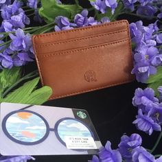 NEW RELEASE Starbucks 2018 Leather Wallet w Gift Card - Limited Edition!! #StarbucksCoffee Starbucks Christmas, Starbucks Gift Card, Starbucks Coffee, Starbucks Seattle, Starbucks Reserve, Fall 2018, Leather Wallet, Pouch, Smoke