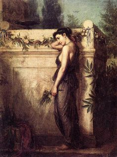 Gone But Not Forgotten - John William Waterhouse, 1873
