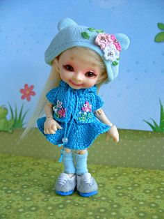Новые наряды Вафельки. Realpuki Pupu, Fairyland / Одежда, обувь, аксессуары для шарнирных кукол БЖД, BJD / Бэйбики. Куклы фото. Одежда для кукол