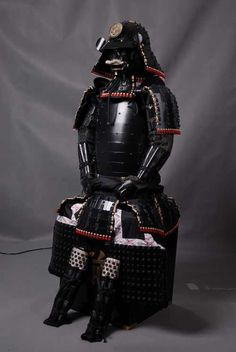 Japanese Samurai Black Armor  -------- #japan #japanese #samurai