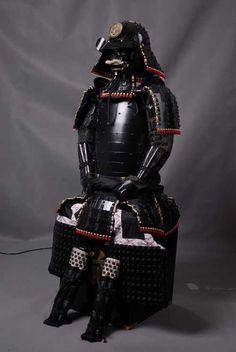 Japanese Samurai Black Armor  -------- #japan #japanese #samurai