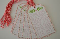 Christmas Wine Tags - Wine Bottle Gift Tags by HeathersPartySpot on Etsy https://www.etsy.com/listing/477419326/christmas-wine-tags-wine-bottle-gift