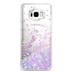 Samsung Galaxy S8 Case Bling Flowing Glitter Liquid Sparkle Love Heart Blue Pink | Cell Phones & Accessories, Cell Phone Accessories, Cases, Covers & Skins | eBay!