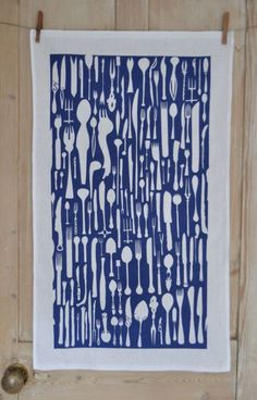 Tea Towel The Best Of Cutlery | Made By Hand Online