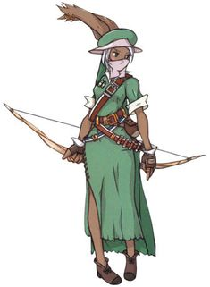 View an image titled 'Viera Sniper Art' in our Final Fantasy Tactics Advance art gallery featuring official character designs, concept art, and promo pictures. Viera Final Fantasy, Final Fantasy Tactics Advance, Fantasy Character Design, Character Drawing, Game Character, Final Fantasy Collection, Final Fantasy Characters, Dungeons And Dragons Characters, Fantasy Costumes