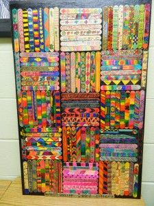Fifth Grade Legacy Project for Legacy Projects, Art Projects, Group Projects, 6th Grade Art, Fifth Grade, High School Art, Middle School Art, 5th Grade Graduation, Green School