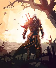 The Witcher 3 by benthedwarf on DeviantArt