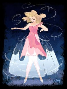 cinderella disney princess painting
