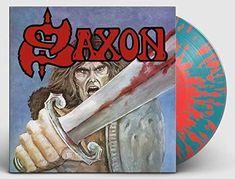 Saxon Saxon SPLATTER COLOURED VINYL LP