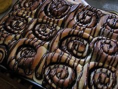 Cocoa Rolls-- Similar to a cinnamon roll, but designed for the chocolate lovers!