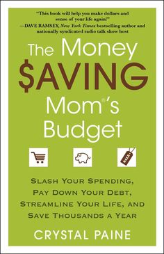 """FROM ONE OF NIELSEN'S TOP 50 POWER MOMS COMES ADVICE YOU CAN TAKE TO THE BANK—LITERALLY !Crystal Paine, who has helped busy women everywhere take control of their finances, presents her most effective strategies designed for families of all sizes and income levels. With hundreds of inspiring """"why didn't I think of that?"""" TIPS, plus WORKSHEETS, Paine breaks down your goals into easy, manageable steps so you can:• Achieve a complete financial makeover • Set up a realistic budget • Never pay…"""