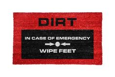 Mustard NG5051 Door Mat Emergency >>> You can get additional details at the image link. (Note:Amazon affiliate link)