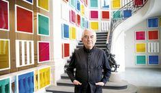 Daniel Buren is a French conceptual artist. Fondation Louis Vuitton, Trait Vertical, Research Presentation, Daniel Buren, Creators Project, Think Big, Photo Colour, The Creator, Princess Beatrice