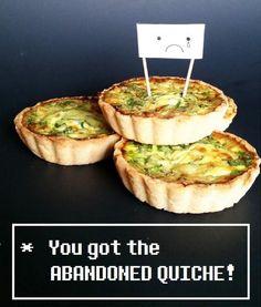 Recipe/Tutorial: Abandoned Quiche (Undertale Undertea, part 4)