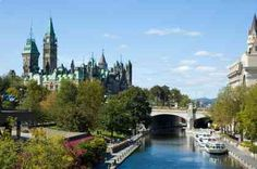 Parliamentary Buildings and Rideau Canal Ottawa, Ontario Canada Best Places To Live, Great Places, Places To Travel, Places Ive Been, Beautiful Places, Ottawa Ontario, Ottawa Canada, Canada Eh, Montreal Canada