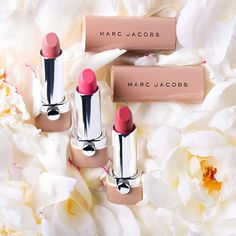 End the search for the perfect nude #lipstick. Introducing #NewNudes #ShopMJB #MarcJacobsBeauty