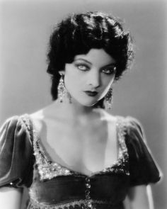 For much of her career Myrna Loy was cast as an oriental seductress or a half-cast outcast. In fact, she was an upper middle class girl from Helena, Montana.
