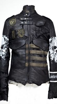 I have one of those green shield patches...just need the coat to put it on.=)  Post-apocalyptic Avant-Garde Fashion