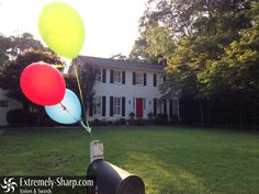 Free hi-resolution photos for your website. More added every week. Good for backgrounds and wallpapers | picture | wallpaper | visit blog for more! | Suburban house party - balloons