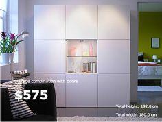 Ikea Living Room, Living Room Storage, Bedroom Storage, Wall Storage, Living Room Inspiration, Interior Inspiration, Ikea Tv Unit, Rooms Ideas, Boy Room