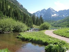 Aspen. I've driven through but I'd like to go for a visit at some point.