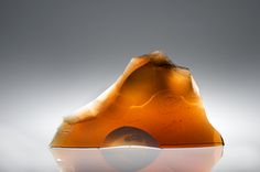 Peter Bremers, High Line Trail, 2011, Kiln-cast glass, 22x13x4