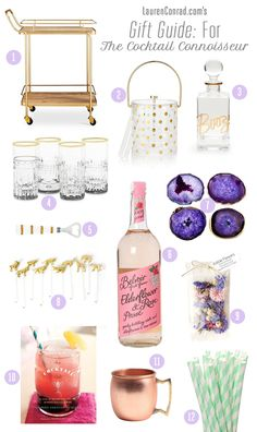 Perfect gifts for the cocktail connoisseur in your life!