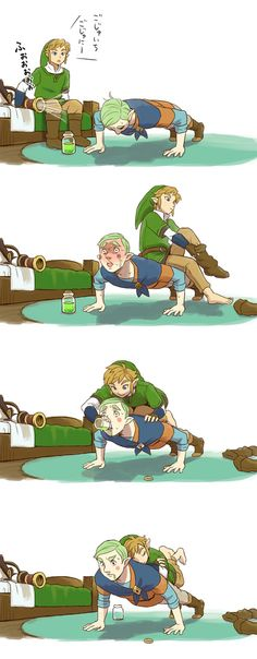 Tags: Anime, Nintendo, The Legend of Zelda, Link, Skyward Sword
