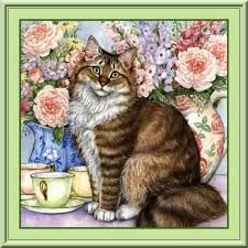 Image result for debbie cook artist Animal Paintings, Cat Art, Cooking, Cats, Artist, Animals, Image, Software, Kitchen