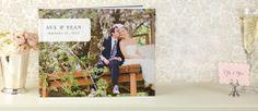 Showcase all of the moments from your big day in a beautiful photo book. Now that's something that's truly meant to be.