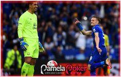 Bandar judi Kartu Domino Berita Bola Jamie Vardy mencetak dua gol saat Leicester merayakan juara Premier League dengan kemenangan 3-1 melawan Everton di Stadion King Power