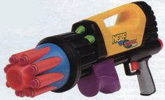 Nerf SuperMaxx 3000 From The 1990s