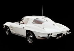 Chevrolet Corvette Sting Ray (1963-67)  Among the last generation of elegant Corvettes, the '63 Sting Ray, with its signature split rear window (later dropped for safety reasons), is its smartest, most distinctive #sport cars #luxury sports cars