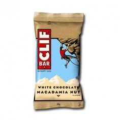 CLIF Bars, Barritas de Avena y Chocolate Blanco con Nueces de Macadamia, aseguran el aporte de todos los nutrientes que el deportista necesita para rendir bien y evitar cualquier tipo de bajón