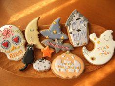 やっと出来ました(^_^;)10月9日(火)よりファヴォリータさんに置かせていただくアイシングクッキーです。※前回にもちょっと書きましたが、前日の8日(月...