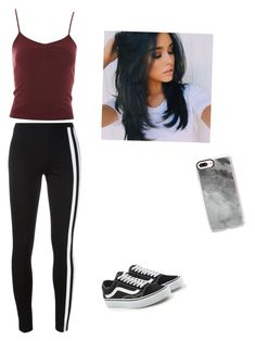 """""""Untitled #30"""" by haileymagana on Polyvore featuring Y-3, Topshop, Vans and Casetify"""