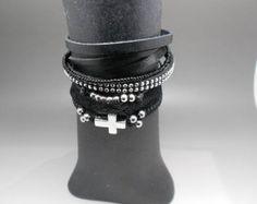 Swarovski Crystal Bracelet  Single Row Bracelet by CandyBead
