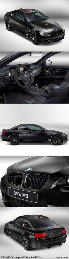 2013 DTM Champion Edition BMW M3 | Car Pictures