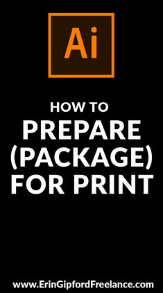 """If you have an Adobe Illustrator file ready to send to the printer but are thinking to youself """"Oh my gosh. what does the printer need in order to print this awesome design? then you are in the right place. Whatch the Adobe Illustrator video tu Freelance Graphic Design, Graphic Design Tutorials, Graphic Design Inspiration, Web Design, Vector Design, Design Trends, Print Design, Photoshop For Photographers, Photoshop Photography"""