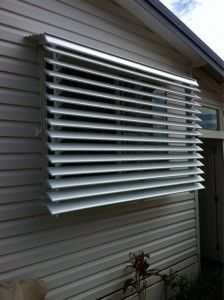 Adjustable Louvre Awnings With Internal Control Evans Head